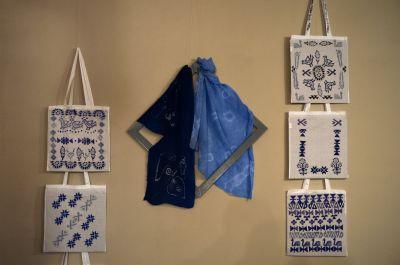 """Изложба """"Вариации в синьо"""" 9"""