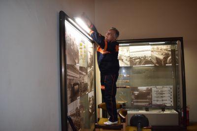 Обновяване на художествено-експозиционното осветление в Музей на текстилната индустрия 2