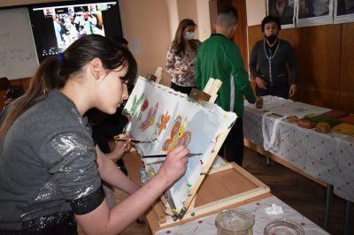 Две музейни ателиета при участниците в муждународен проект 6