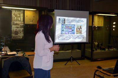 """Презентация на Тони Димитрова: """"Коприна-нишка, дълга хилядолетия"""" - Музей на текстилната индустрия - Сливен"""