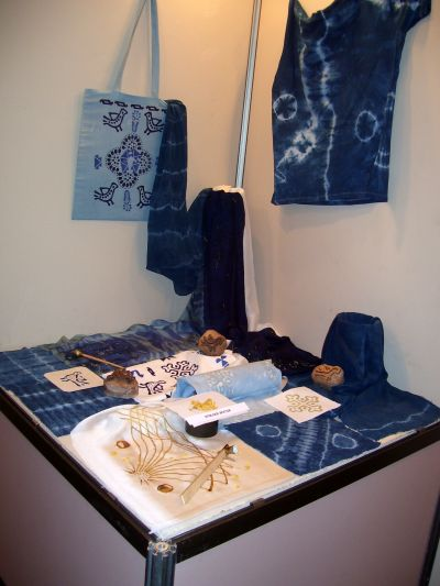 """Изложба """"Вариации в синьо"""" - Музей на текстилната индустрия - Сливен"""